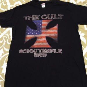 0ab4031a Gildan Shirts | The Cult Graphic Tee Shirt | Poshmark